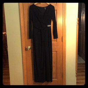 Chaps black evening gown.
